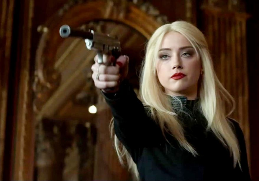 Amber Heard - 'I don't have children in the house, so I sleep with my gun in a place that's close enough that if I needed to protect myself, I could.'