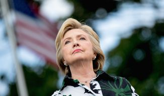 As Democratic presidential nominee Hillary Clinton looks to sway voters, her biggest liability is her perceived dishonesty. (Associated Press)