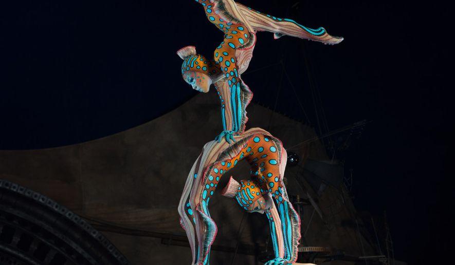 """Kurios"" from Cirque du Soleil runs at Tysons II in Tysons, Virginia, until Sept. 18.  (wtop.com)"