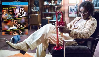 """Don Cheadle stars in """"Miles Ahead,"""" now available on Blu-ray from Sony Pictures Home Entertainment."""