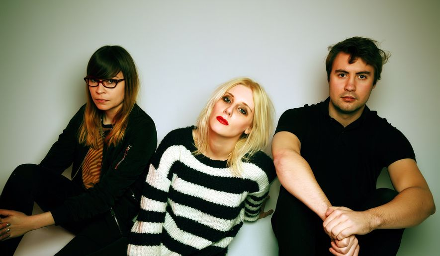 White Lung members, from left: Anne-Marie Vassiliou, Mish Way and Kenneth Williams.  (Rick Rodney)