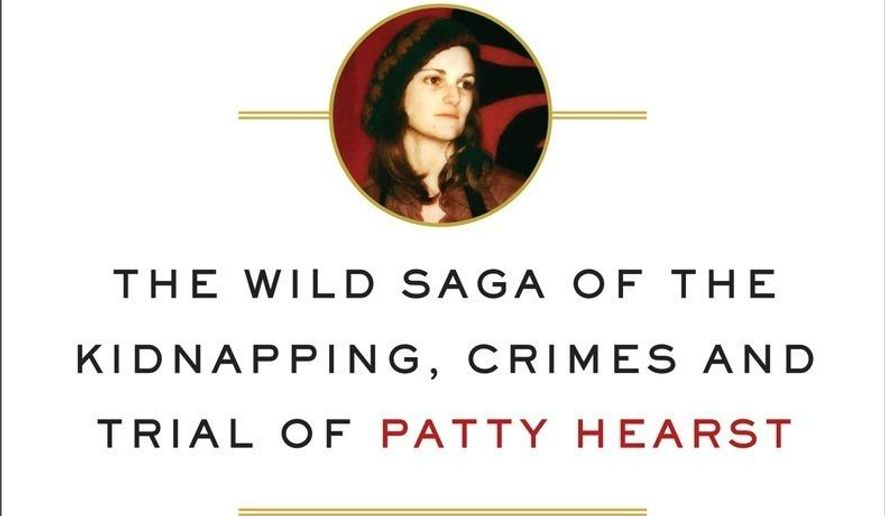 "This image released by Doubleday shows ""American Heiress: The Wild Saga of the Kidnapping, Crimes and Trial of Patty Hearst,"" by Jeffrey Toobin. (Doubleday via AP)"