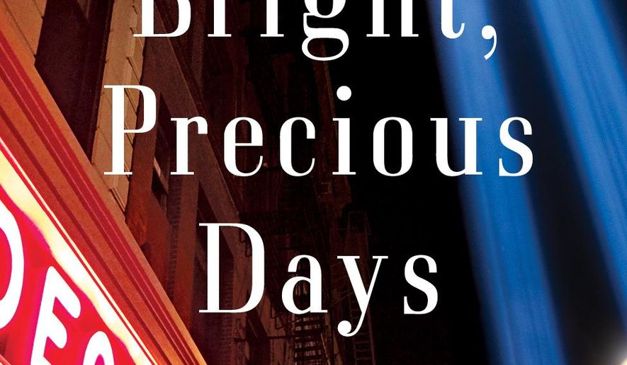 """This image released by Alfred A. Knopf shows, """"Bright, Precious Days,"""" a novel by Jay McInerney.  (Alfred A. Knopf via AP)"""