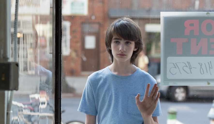 "This image released by Magnolia Pictures shows Theo Taplitz in a scene from, ""Little Men."" (Magnolia Pictures via AP)"