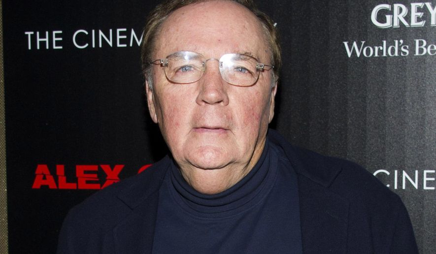 "FILE - In this Oct. 18, 2012, file photo, James Patterson attends a screening of ""Alex Cross"" in New York. Investigation Discovery channel is joining forces with bestselling author James Patterson, who will write and executive produce a six-part scripted series for the network. (Photo by Charles Sykes/Invision/AP, File)"