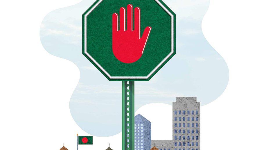 Anti-terror Tactics in Bangladesh Illustration by Greg Groesch/The Washington Times