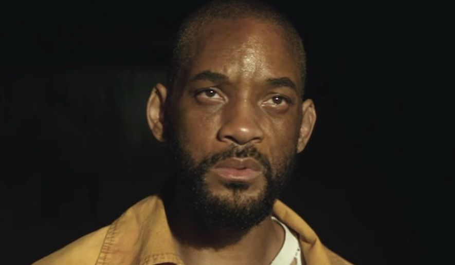 "Actor Will Smith stars in ""Suicide Squad"" as the character ""Deadshot."" (YouTube, Warner Bros.)"
