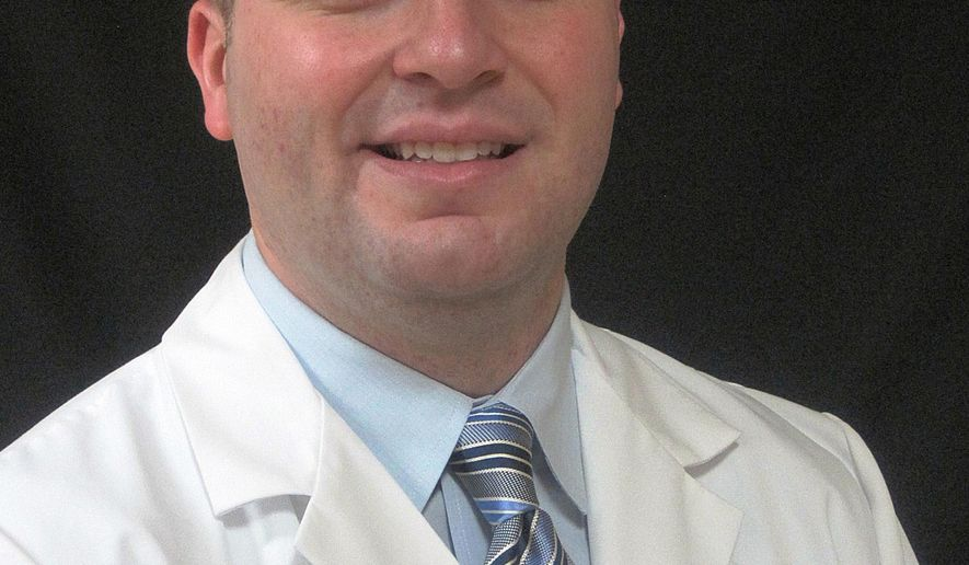 In this March 1, 2013 provided by Brandon Taylor shows himself in Owensboro, K.Y. Kentucky Gov. Matt Bevin seeks to overhaul the state's Medicaid system. The proposal would eliminate routine dental and vision coverage for Medicaid recipients. Dr. Taylor, runs a dental clinic in Deviess county and is the only that accepts Medicaid. (Brandon Taylor via AP)