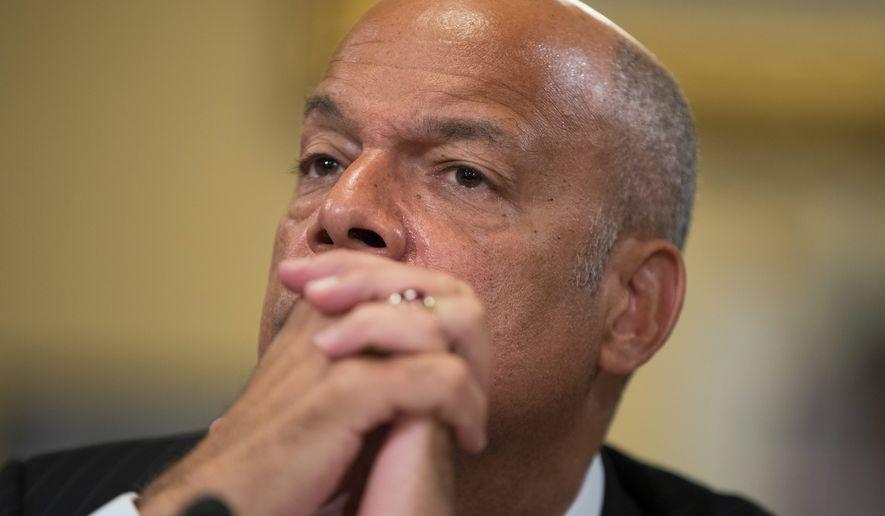 Homeland Security Secretary Jeh Johnson. (Associated Press File Photo)