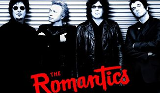 The Romantics (left to right): Wally Palmar, Rich Cole, Mike Skill and Brad Elvis.