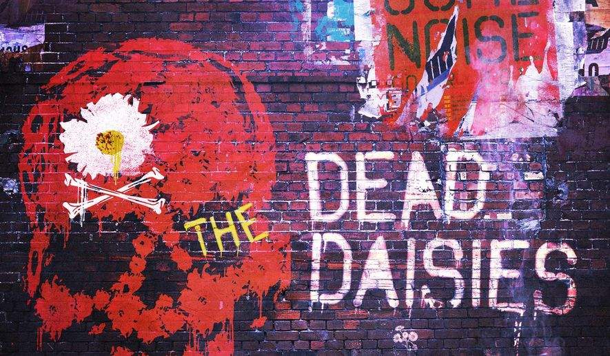 "This CD cover image released by Spitfire Music/SPV shows ""Make Some Noise,"" a new release by The Dead Daisies. (Spitfire Music/SPV via AP)"