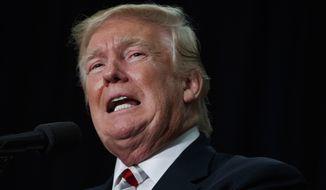 Recent polling has Donald Trump behind in Florida, Pennsylvania, Michigan, New Hampshire and even solidly Republican Georgia. (Associated Press)