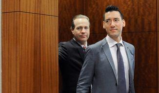 David Daleiden (right) (Associated Press/File)