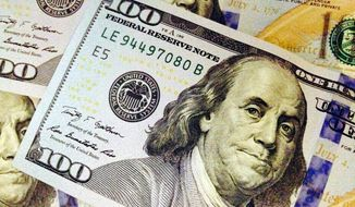 Americans' personal money woes appear to be lessening says a new Gallup poll. (Associated Press)