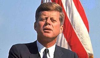 John F. Kennedy    Associated Press photo