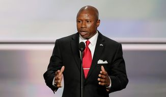 Darryl Glenn, Republican candidate for U.S. Senate from Colorado. (Associated Press)