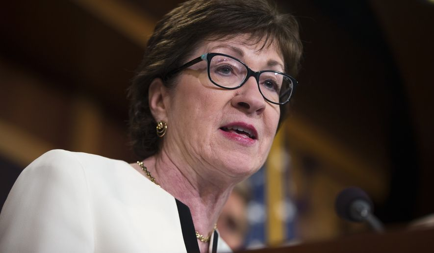 Sen. Susan Collins (Associated Press)