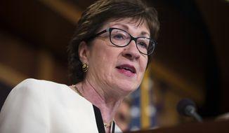 Sen. Susan Collins (Associated Press)
