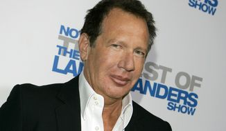 """In this April 10, 2007, file photo, actor Gary Shandling arrives at the wrap party and DVD release for """"The Larry Sanders Show"""" in Beverly Hills, Calif. (AP Photo/Chris Carlson, File)"""