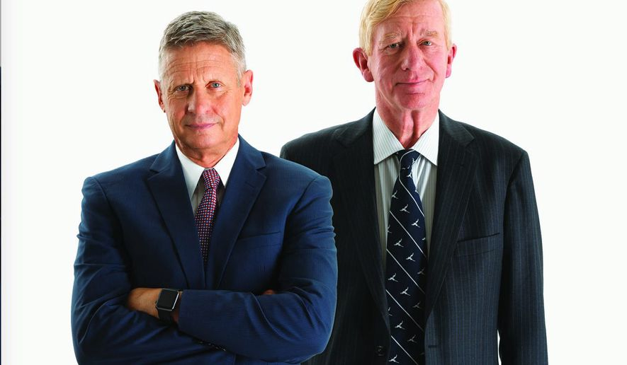 Libertarian candidates Gary Johnson and William Weld are enjoying greater press attention. (Image courtesy Gary Johnson)