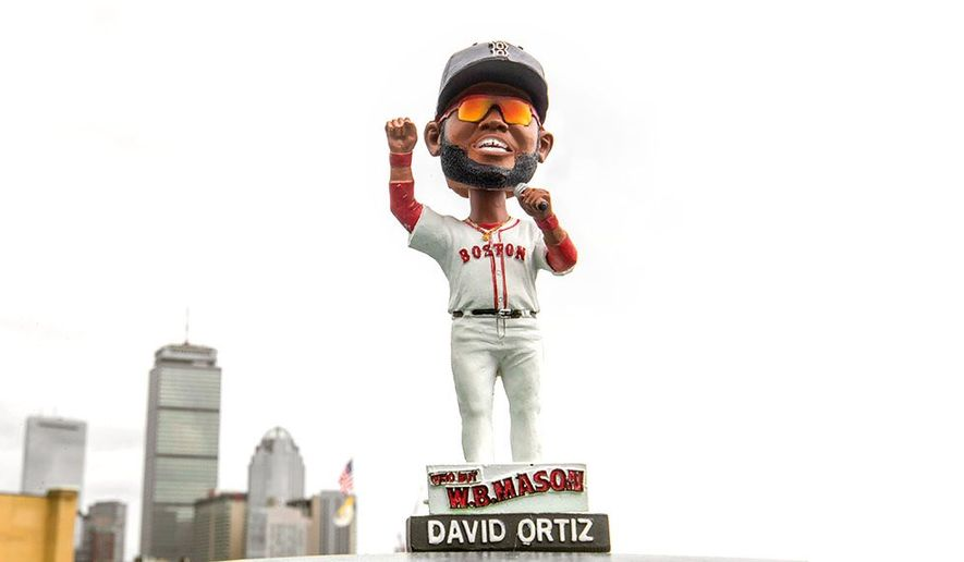 "The Red Sox issued an apology statement calling the David Ortiz bobbleheads ""unacceptable to the club and not appropriate for distribution."" (@RedSox)"