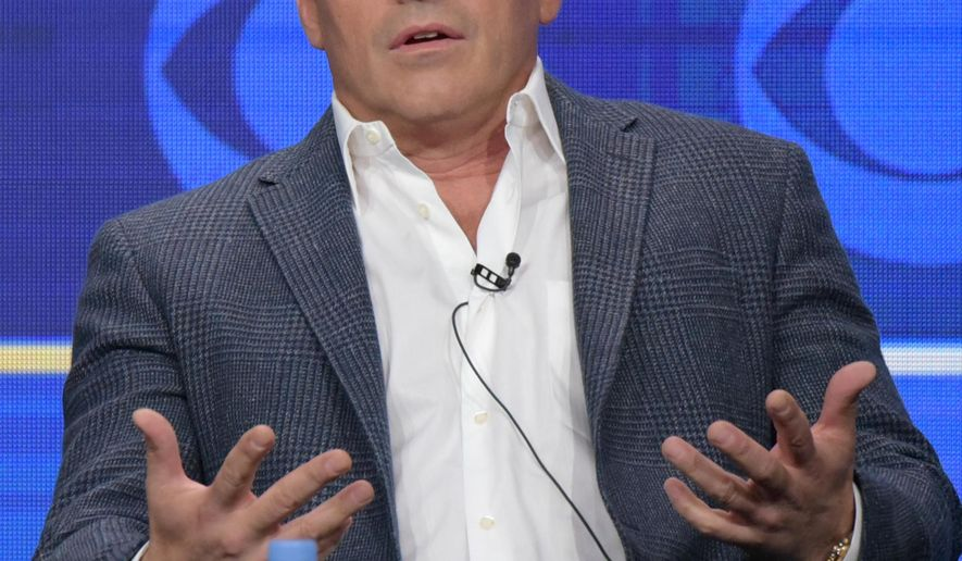 """Actor/executive producer Matt LeBlanc participates in the """"Man With A Plan"""" panel during the CBS Television Critics Association summer press tour on Wednesday, Aug. 10, 2016, in Beverly Hills, Calif. (Photo by Richard Shotwell/Invision/AP)"""