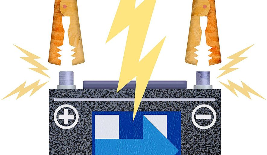 Hillary Short Circuit Illustration by Greg Groesch/The Washington Times