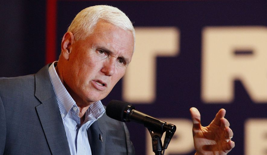 Mike Pence (Dayton Daily News via Associated Press)