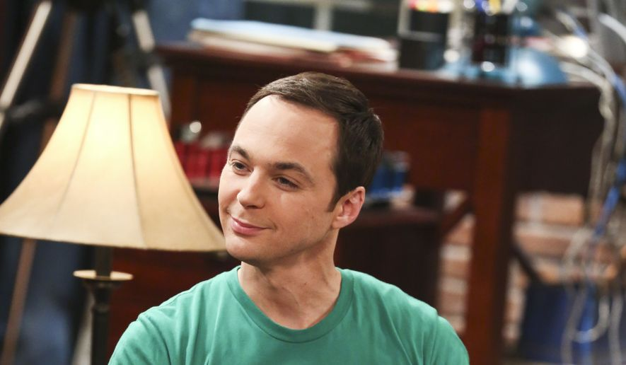 "FILE - In this image released by CBS, Jim Parsons appears in a scene from ""The Big Bang Theory."" The series about brainiacs and those who love them has an ensemble cast lead by Jim Parsons, Johnny Galecki,, Kaley Cuoco and Mayim Bialik. It begins its 10th season at 8 p.m. EDT Monday, Sept. 19. (Michael Yarish/CBS via AP, File)"