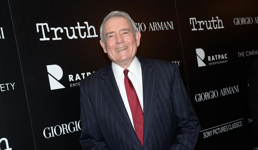 "In this Oct. 7, 2015, file photo, television journalist Dan Rather attends a special screening of ""Truth"" at The Museum of Modern Art in New York. (Photo by Evan Agostini/Invision/AP, File)"
