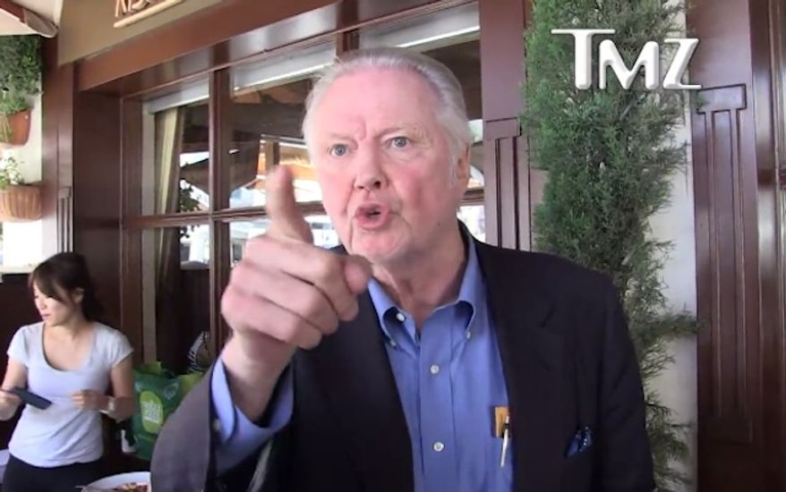 """Actor Jon Voight says Donald Trump's remark about Second Amendment supporters taking action against Hillary Clinton is being """"blown way out of proportion"""" by the media. (TMZ)"""
