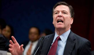 FBI Director James B. Comey. (Associated Press)