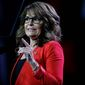 Sarah Palin remains a devoted voice for the tea party movement but has lost political stock since her 2008 Republican vice presidential candidacy. Still, she insists she is more committed than ever to the cause of upsetting the party's establishment. (Associated Press)