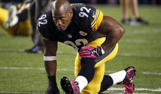 Pittsburgh Steelers linebacker James Harrison (Associated Press)
