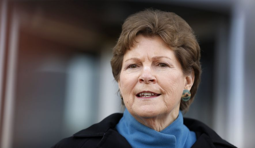 Sen. Jeanne Shaheen, New Hampshire Democrat. (Associated Press) ** FILE **