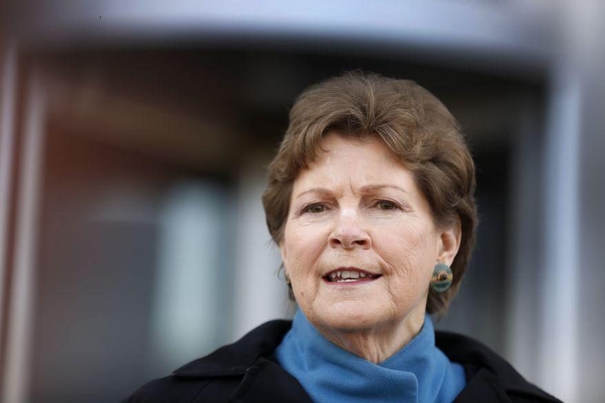 Sen. Jeanne Shaheen, New Hampshire Democrat. (Associated Press) ** FILE **