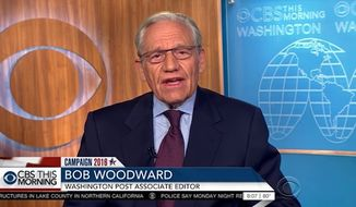"Bob Woodward, the famed investigative reporter who worked alongside Carl Bernstein in breaking the 1970s Watergate scandal, said Tuesday that Hillary Clinton's ""habit of secrecy"" concerning her private email server is a ""very serious issue"" that may offer a glimpse at how nontransparent her presidency would be. (CBS)"