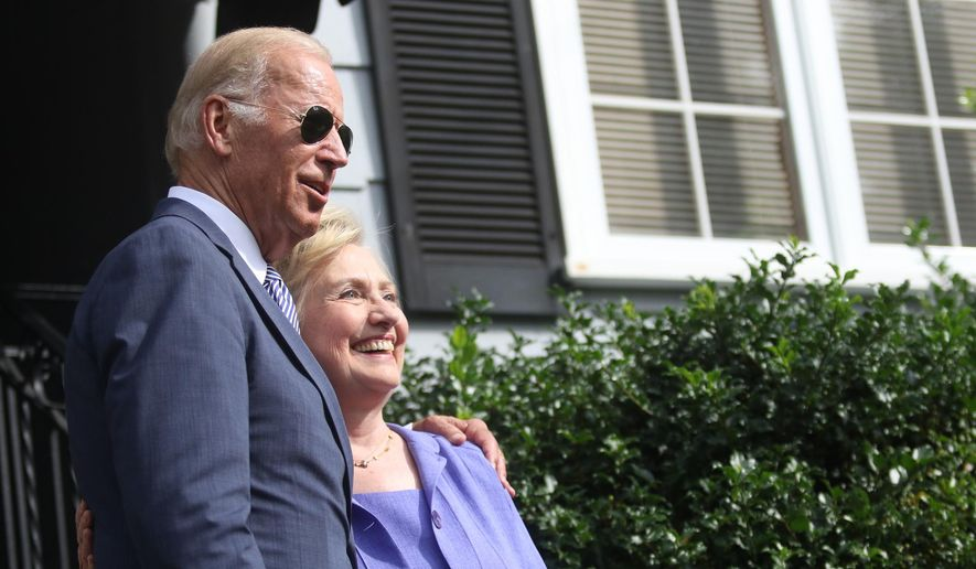 Democratic Presidential Nominee Hillary Clinton And Vice President Joe  Biden Visit His Childhood Home In Scranton