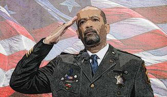 Sheriff David Clarke Illustration by Greg Groesch/The Washington Times