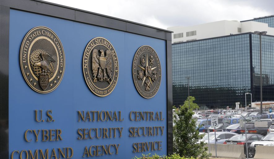 This June 6, 2013, file photo shows the National Security Agency (NSA) campus in Fort Meade, Md. (AP Photo/Patrick Semansky, File)