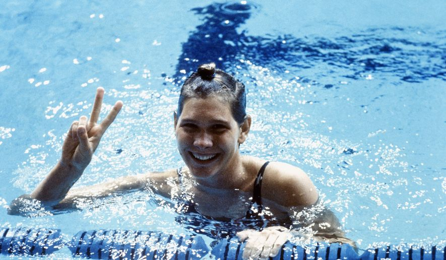 Virginia native Melissa Belote won three Olympic gold medals and set a world record in the 800-meter freestyle in 1972. (Associated Press)