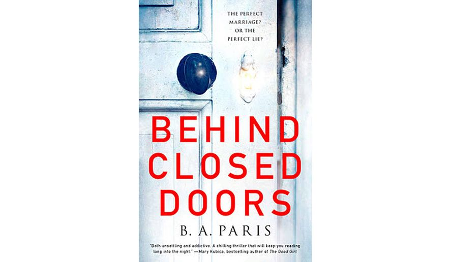 BOOK REVIEW: 'Behind Closed Doors' - Washington Times