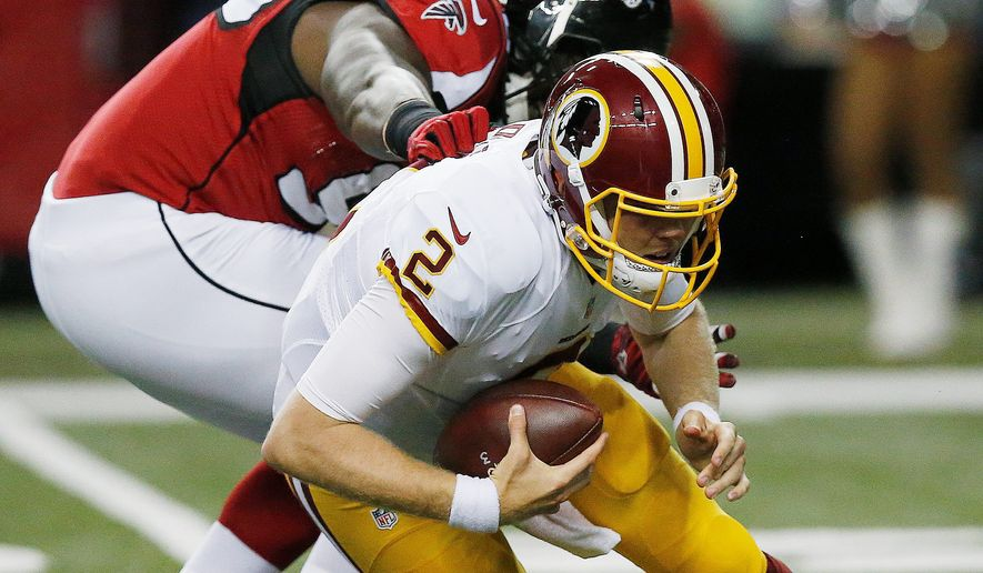 Rookie Nate Sudfeld is expected to be the third Washington Redskins quarterback to enter Friday's preseason game against the New York Jets. Sudfeld's brother, Zach, is a tight end on the Jets. (Associated Press)