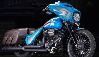 Marvel and Harley-Davidson teamed up to build custom motorcycles inspired by iconic superheroes. (Harley-Davidson)