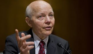 Commissioner John Koskinen is facing calls for impeachment after he failed to discover thousands of emails from former senior executive Lois G. Lerner, despite assuring Congress that he had done everything to recover them. (Associated Press)
