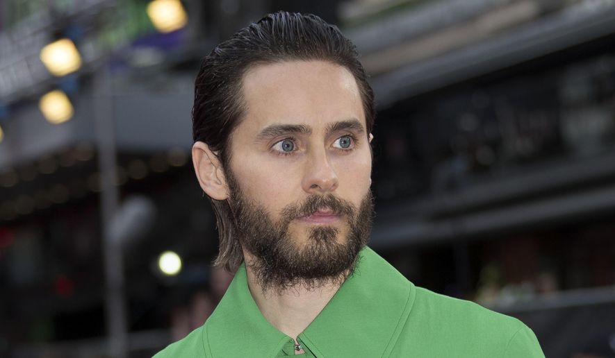 "Actor Jared Leto poses for photographers at the European Premiere of Suicide Squad, at a central London cinema, Aug. 3, 2016. Mr. Leto will join Harrison Ford and Ryan Gosling in the sequel to ""Blade Runner."" (AP Photo/Joel Ryan) ** FILE **"