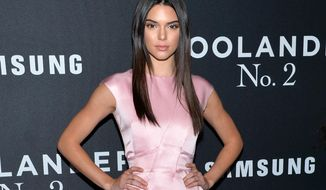 "FILE - In this Feb. 9, 2016 file photo, Kendall Jenner attends the world premiere of ""Zoolander 2"" in New York. A report by Los Angeles police states that transient arrested outside Jenner's home on Aug. 14, told officers he had frequently waited for the model and reality television star outside her residences in attempts to meet her. The report led a Los Angeles Superior Court judge to issue a temporary restraining order on Aug. 17, that requires Shavaughn McKenzie, who remains jailed, to stay away from Jenner and not attempt to contact her. (Photo by Evan Agostini/Invision/AP, File)"