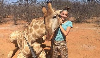 Aryanna Gourdin, a 12-year-old Utah girl who went on a big game hunt in South Africa with her father last week, is defending the sport after photos of her kills sparked backlash on social media. (Facebook/@Aryanna Gourdin)
