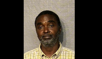 Raymond Jackson's mugshot, via the Houston Chronicle's website. Accessed Aug. 19, 2016.