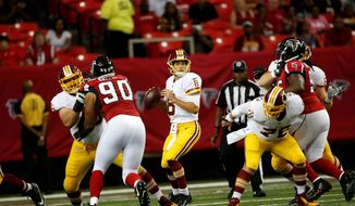 All eight of Washington Redskins quarterback Kirk Cousins' game snaps this preseason came on the first series against the Atlanta Falcons on Aug. 11. (Associated Press)